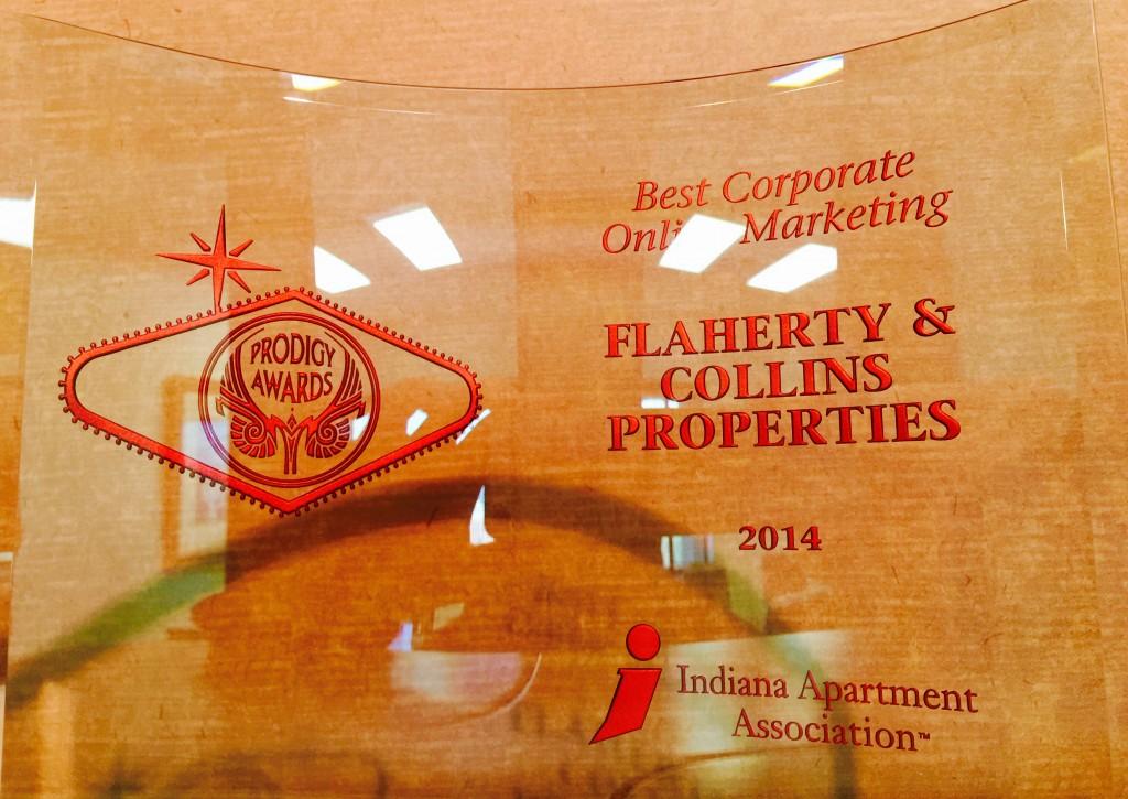 IAA Prodigy Award_Corporate Online Marketing