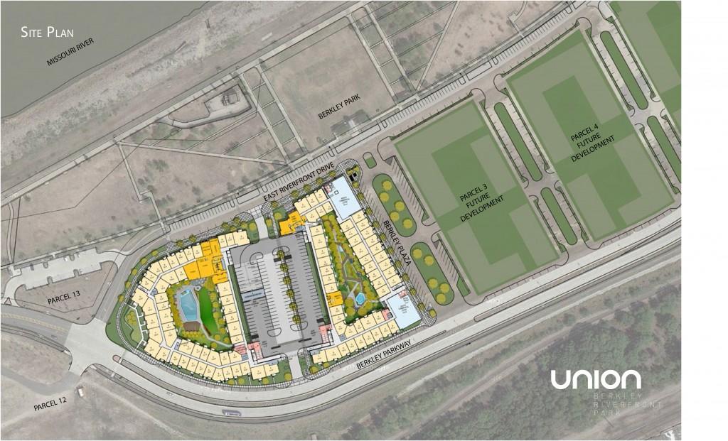 Union - Berkley Park Site Plan