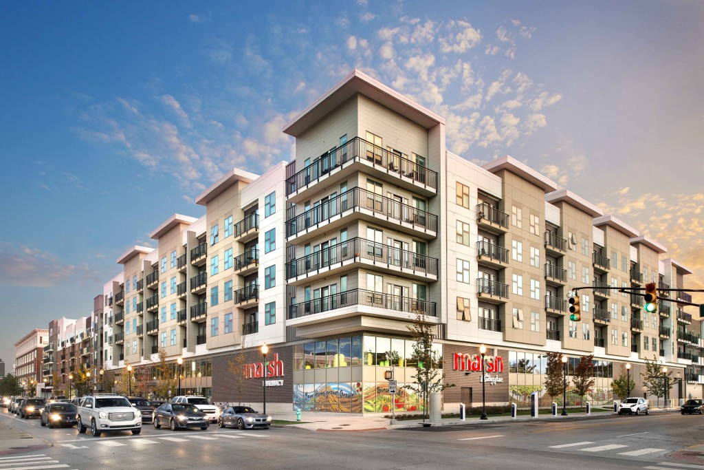 Commercial Property Development : Axis named best mixed use retail development by naiop