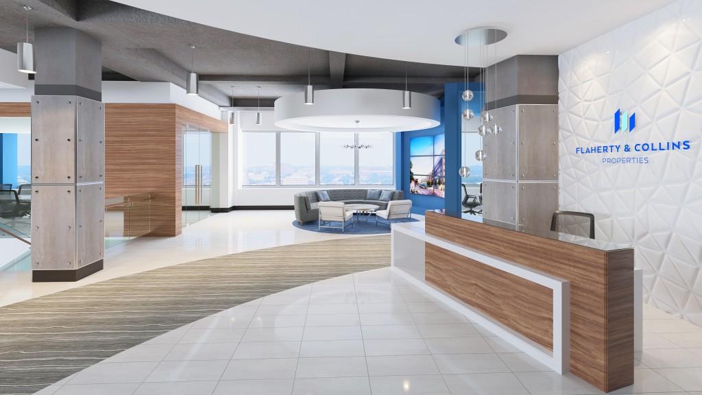 Flaherty & Collins Properties New Lobby