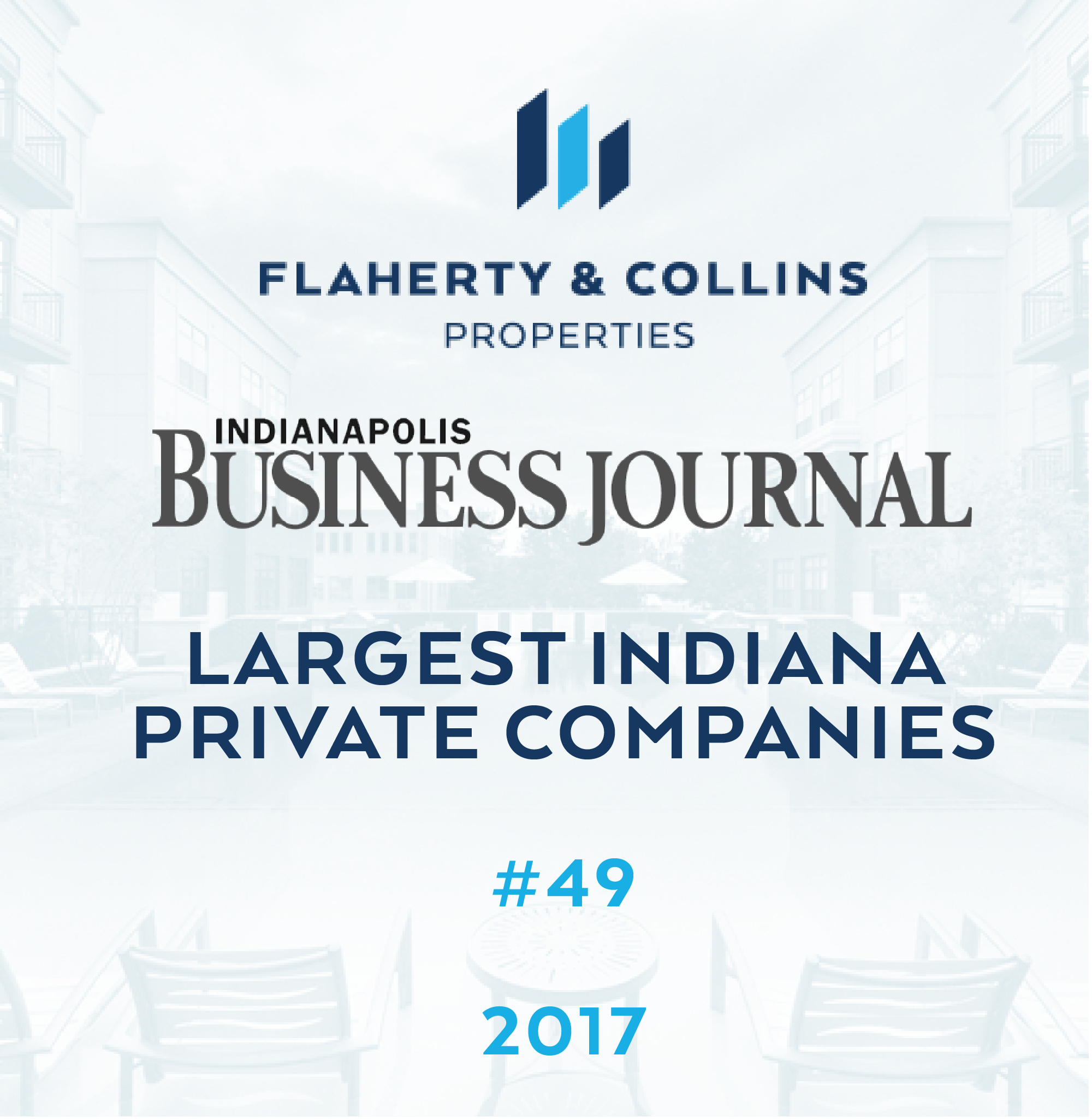 Flaherty U0026 Collins Properties Was Listed Among The Largest Indiana Private  Companies In A List By The Indianapolis Business Journal.